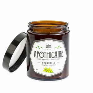 candle essential oil sensual la belle meche soy natural