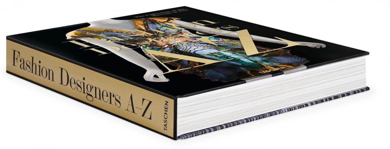 fashion designer A to Z taschen fashion book