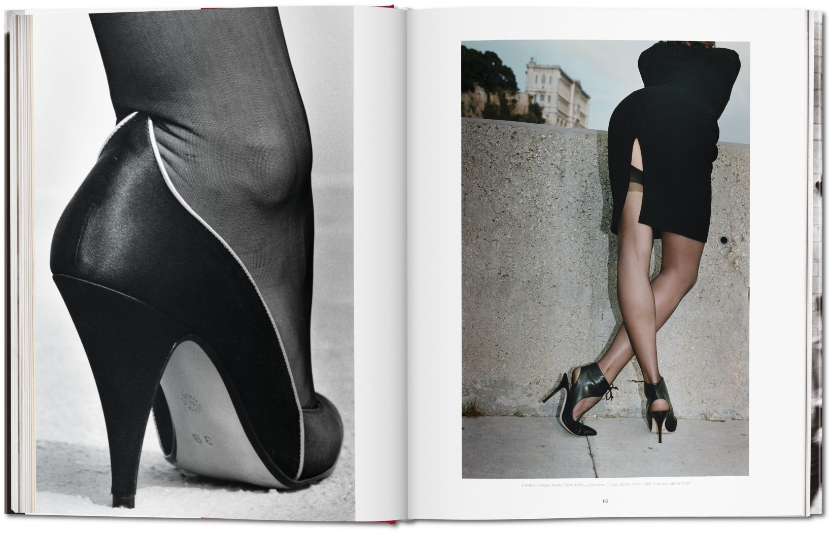 Newton work fashion book photo helmut newton