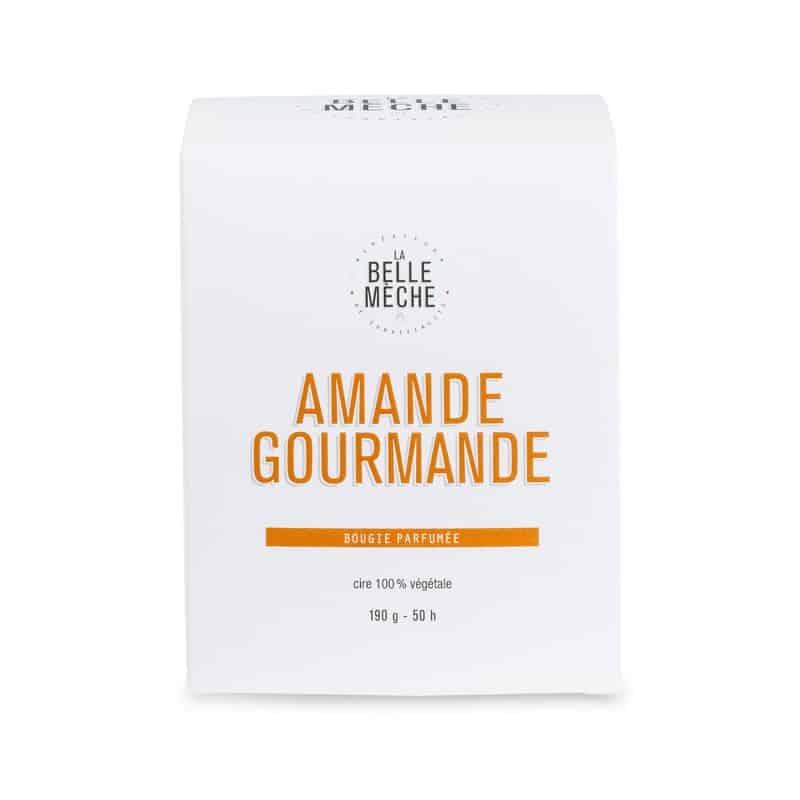 bougie parfumée naturelle senteur amande gourmande la belle meche L'Erudite Concept Store