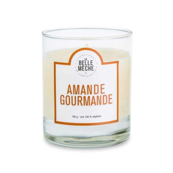 Candle Sweet Almond by La belle Mèche
