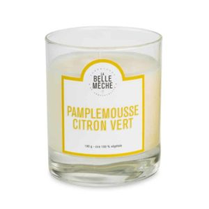 Candle Grapefruit and Lime by La Belle Mèche