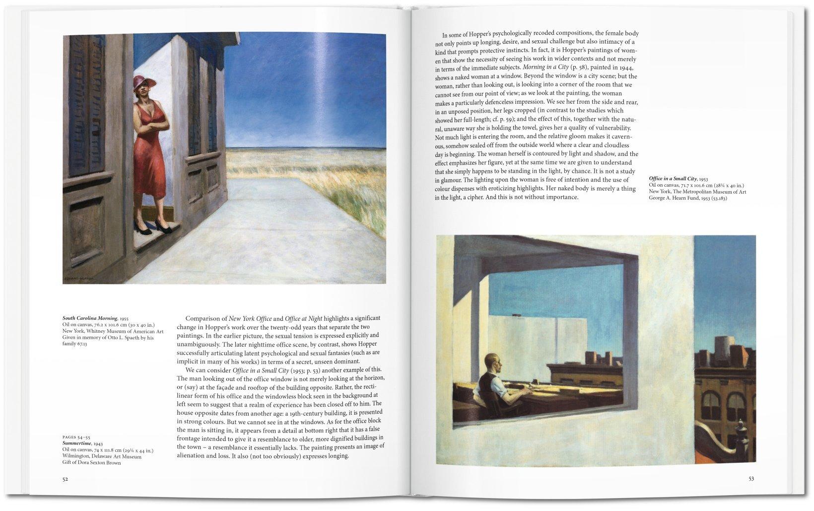 libro arte pintura hopper taschen
