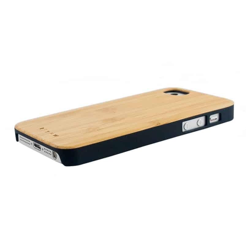 funda de madera Galaxy Time for Wood bambú