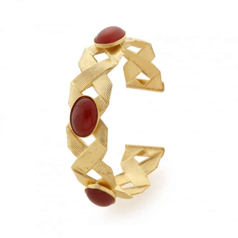 bracelet manchette ariane collection constance bijou femme handmade paris