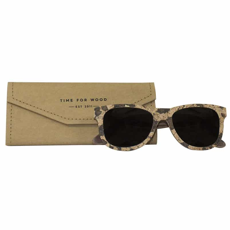 sugho tiempo para la madera de corcho de madera de corcho hecho a mano accesorios de moda hombre mujer gafas de sol hombre mujer