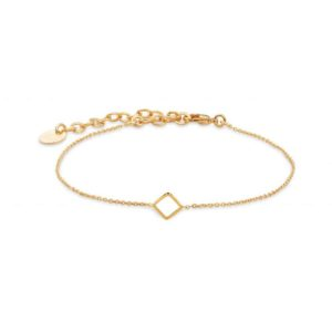 la jewellery gold woman bdm studio bracelet