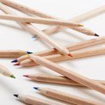color pencils la petite papeterie francaise wood wooden writing set
