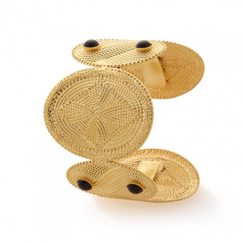 manchette bracelet agnes or bijou femme collection constance