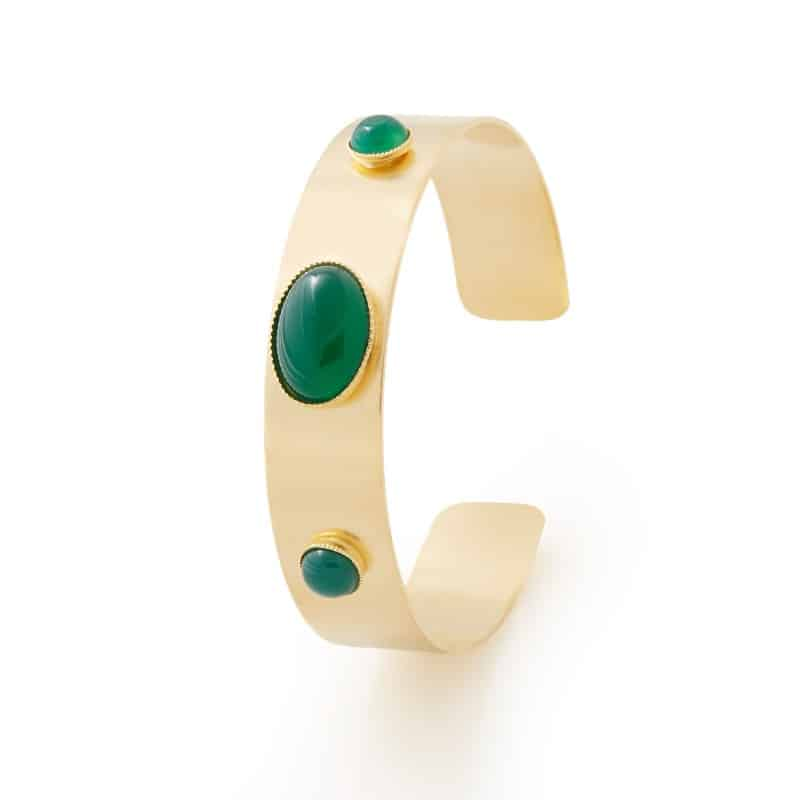 pulsera ange collection constance mujer verde