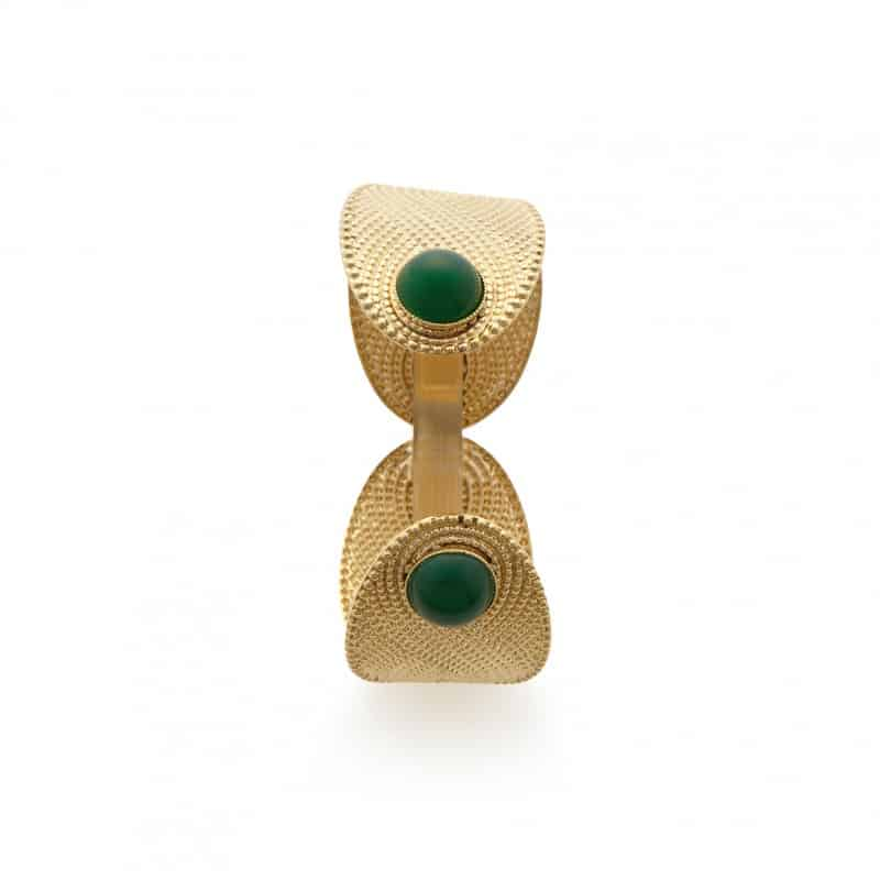 pulsera ajustable mujer collection constance piedras naturales paris athenais