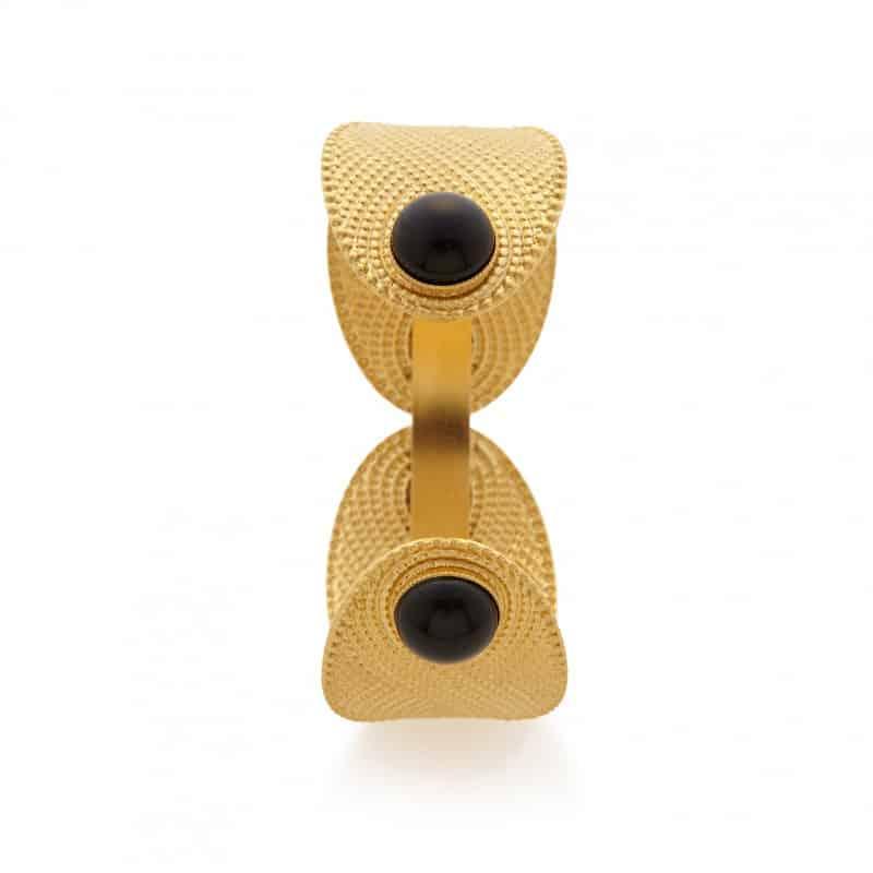 semi precious stone Athenais cuff barcelona