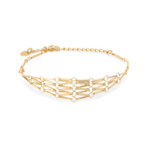 medina - bracelet bdm studio woman fashion gold