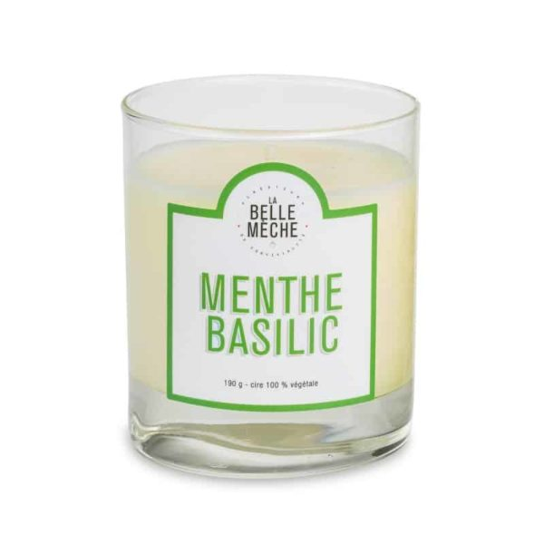 Candle Mint Basil by La Belle Mèche
