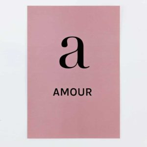 love print stationery