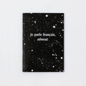 cuaderno je parle français papeleria escritura french words