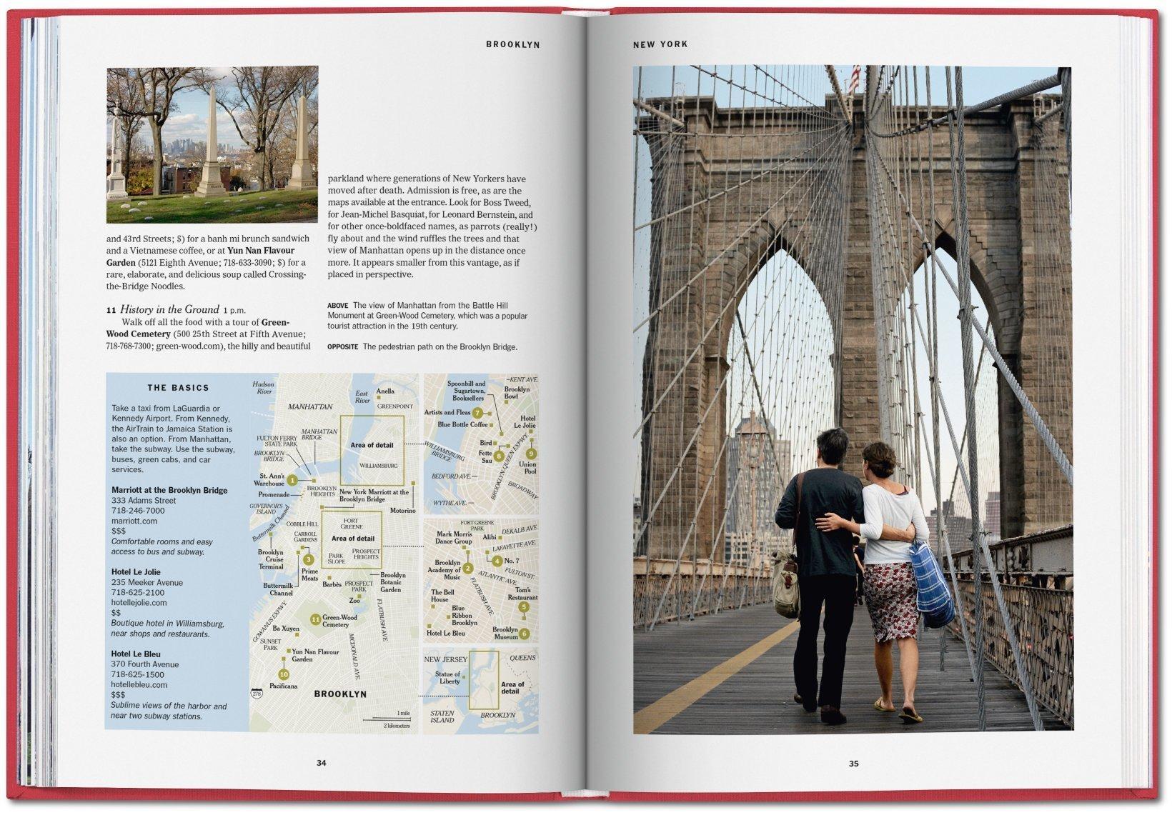 36 hours New York Times Nueva York y alrededores libro viaje ciudad guia