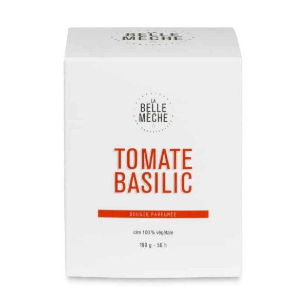 Vela Tomate Albahaca por La Belle Mèche