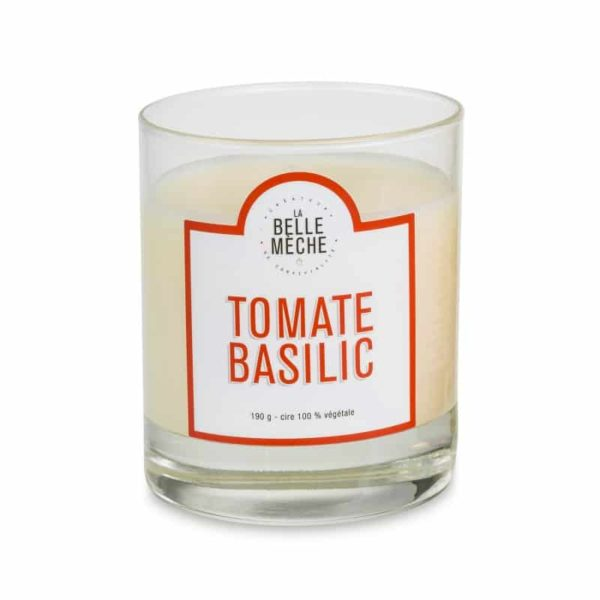Candle Tomato Basil by La Belle Mèche