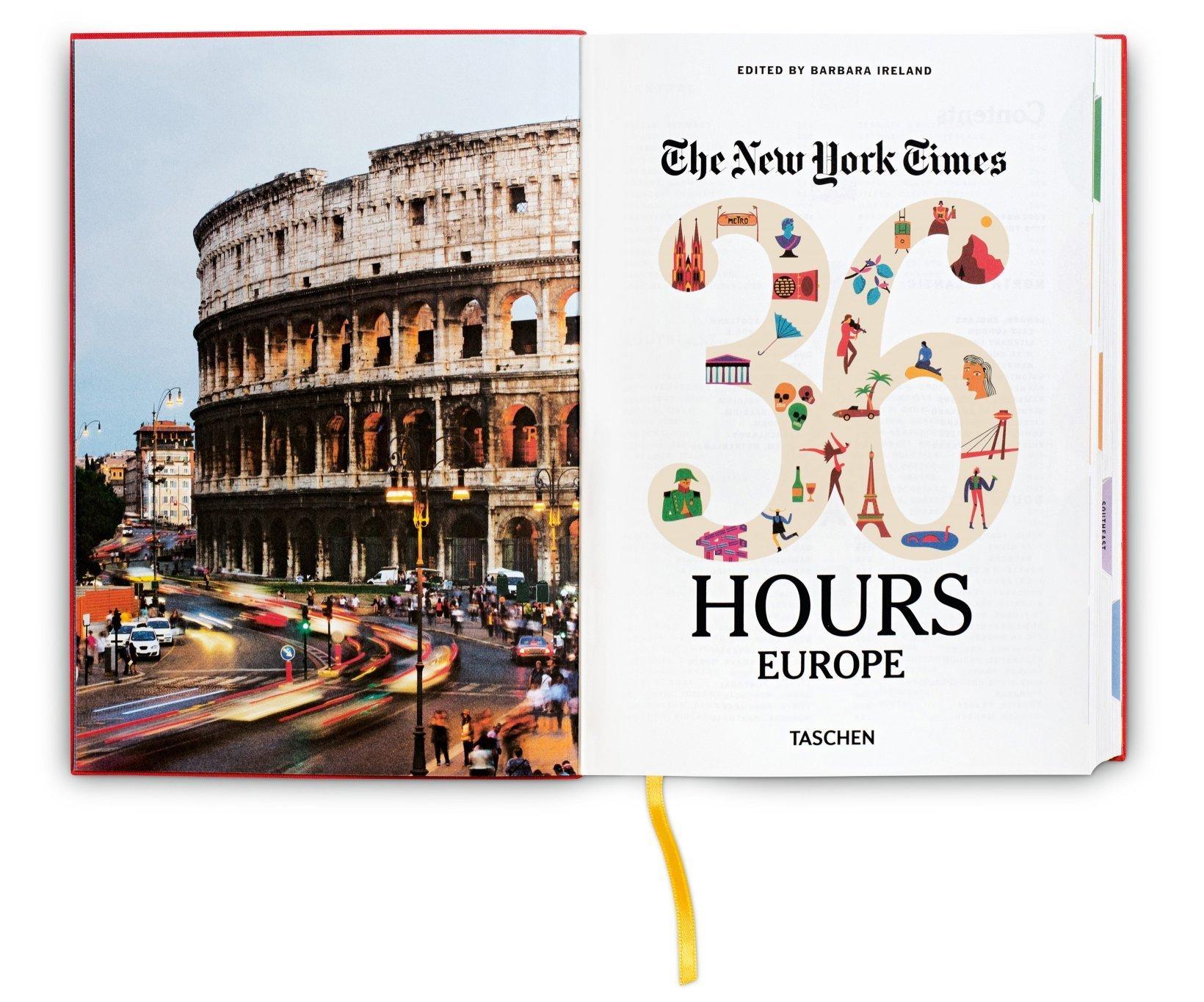 NYT 36 hours Europa taschen