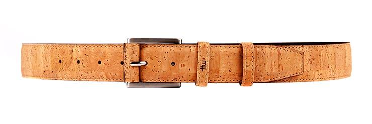 cinturón sylvo corcho time for wood hecho a mano moda complemenos hombres