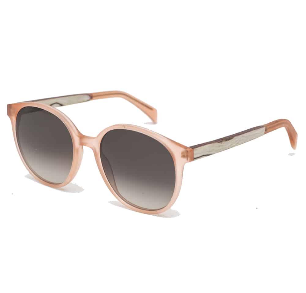 Handmade sunglasses pink REZIN MILA - Acetate - L'Erudite Concept Store acetate