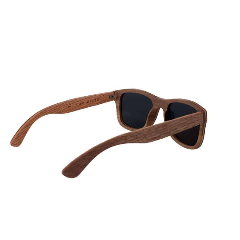 lunettes soleil bois time for wood balano wayfarer