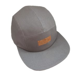 Caps Canvas Light Grey with denim and cork Basus barcelona L'Erudite Concept Store