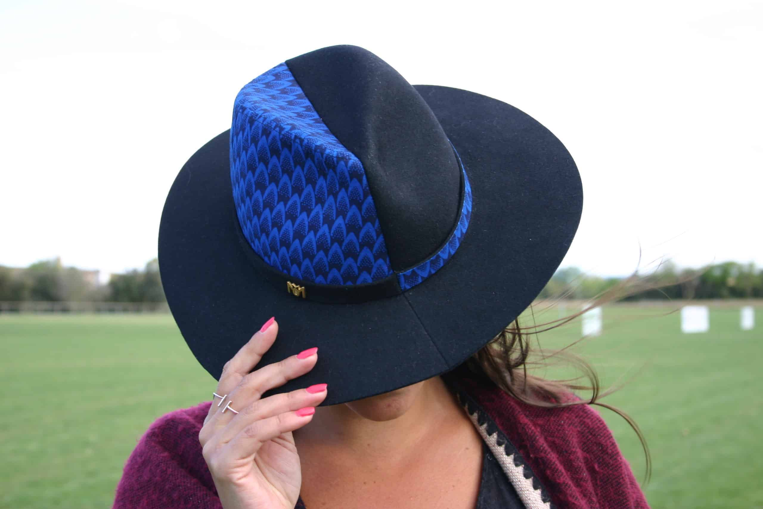 sombrero half minime paris blackhats moda complementos hombre mujer hecho a mano wax