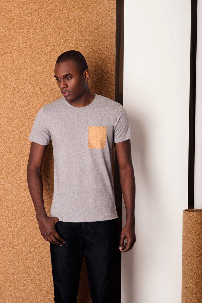 T-Shirt Pocket Grey by BASUS