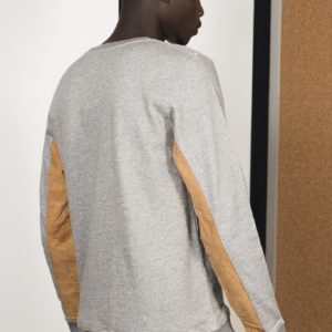 Sweat Shirt District middle grey by Basus