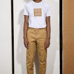t-shirt cork good basus white coton