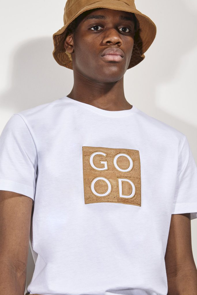 t-shirt limited edition cork good basus white coton BASUS shirt GOOD