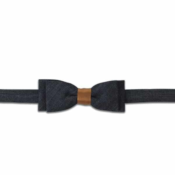 Bow tie Fun raw denim by HACTER