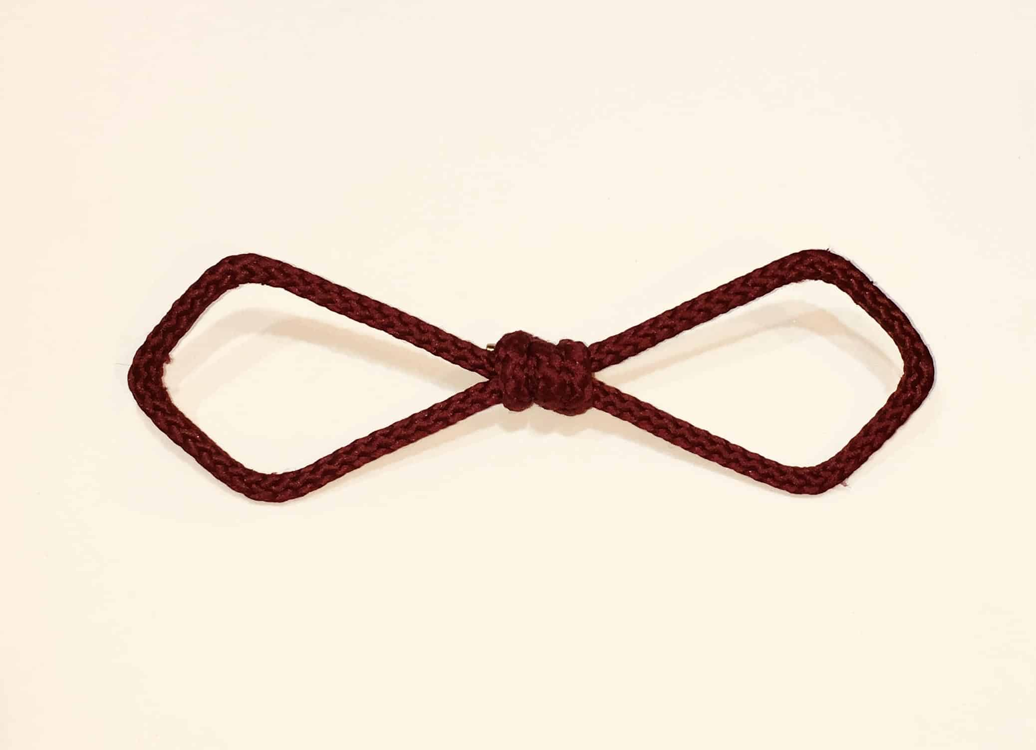 Bow tie Burgundy Diamond by NDY CREATION