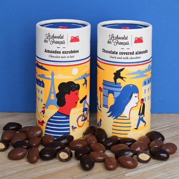 chocolat des français chocolate covered almonds