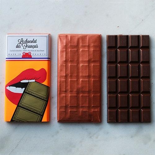 chocolat des français milk chocolate