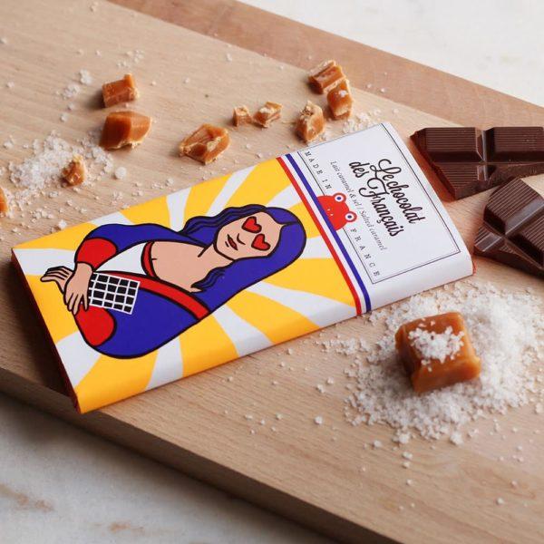 chocolat des français caramel