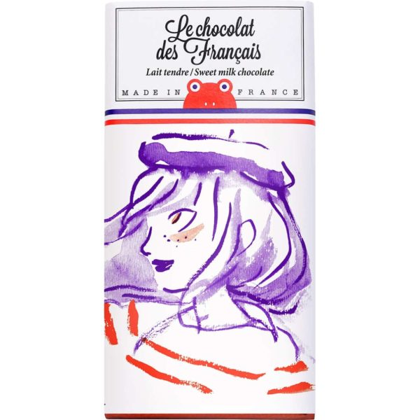 Chocolat des Français sweet milk chocolate