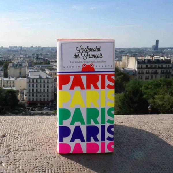 paris multicolore chocolat des français
