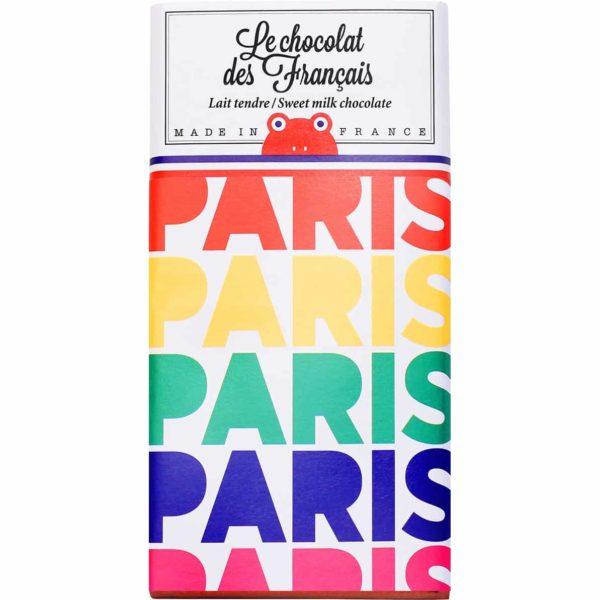 paris chocolat des français sweet milk chocolate