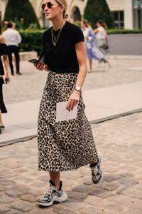 look imprimé léopard