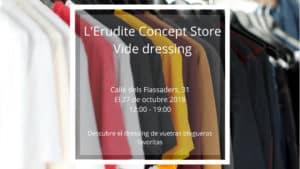 L'Erudite Concept Store Vide dressing