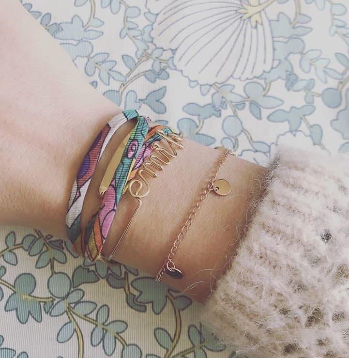 bracelet pastille coralie de seynes