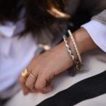 quadri bracelet bijou cuir coralie de seynes