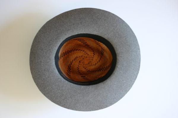 hat leather fluctuat Paris Minime handmade mode femme accessoire