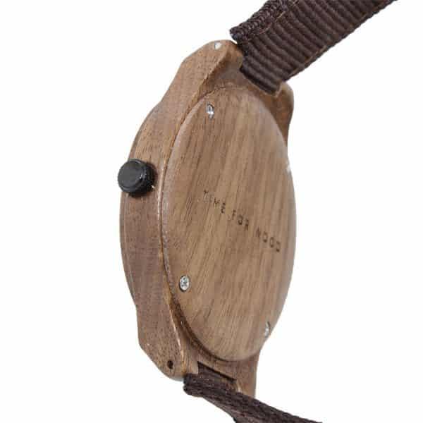 Reloj IGRIS Nylon por Time for Wood