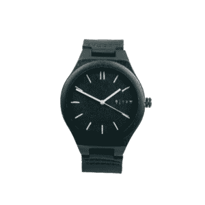 Reloj CEYLIS Cuero negro por TIME FOR WOOD
